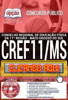 Apostila Concurso CREF 11ª Região 2019 PDF Download e Impressa