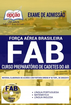 Apostila Concurso FAB 2019 PDF Curso de Cadetes do Ar