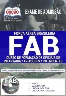 Apostila Concurso FAB 2019 PDF Curso de Formação de Oficiais de Infantaria, Intendentes e Aviadores