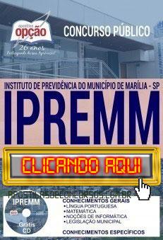 Apostila Concurso IPREMM 2019 PDF Download e Impressa