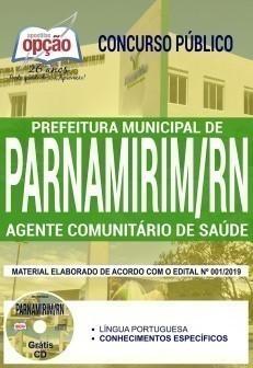 Apostila Concurso Prefeitura de Parnamirim 2019 PDF Agente Comunitário de Saúde