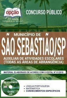 Apostila Concurso Prefeitura de São Sebastião 2019 PDF Download Digital