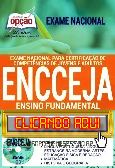 Apostila ENCCEJA 2019 PDF Download Digital e Impressa