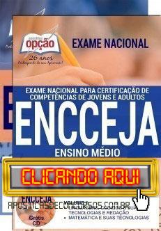 Apostila ENCCEJA 2019 PDF Download e Impressa Ensino Médio