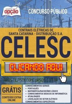 Apostila Concurso CELESC 2019 PDF Download e Impressa