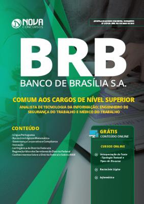 Apostila Concurso BRB 2019 Nível Superior PDF e Impressa