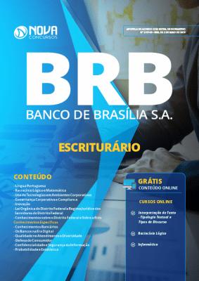 Apostila Concurso BRB 2019 Escriturário PDF e Impressa