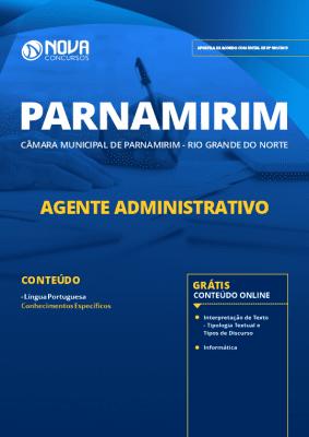 Apostila Câmara de Parnamirim 2019 Agente Administrativo PDF e Impressa