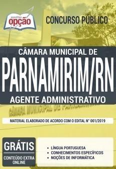 Apostila Câmara de Parnamirim 2019 PDF e Impressa Agente Administrativo