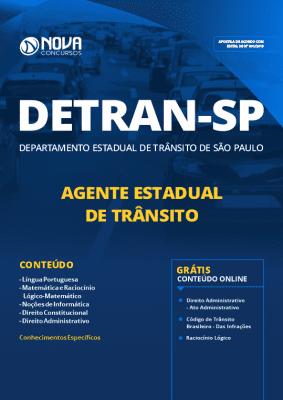 Apostila Concurso DETRAN SP 2019 Agente Estadual de Trânsito PDF e Impressa