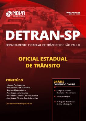 Apostila Concurso DETRAN SP 2019 Oficial Estadual de Trânsito PDF e Impressa