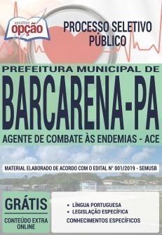 Apostila Prefeitura de Barcarena 2019 PDF e Impressa Agente de Combate às Endemias
