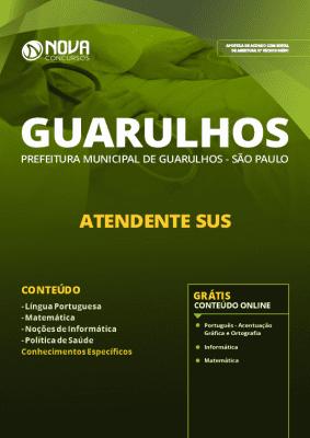 Apostila Prefeitura de Guarulhos 2019 Grátis Cursos Online Atendente SUS