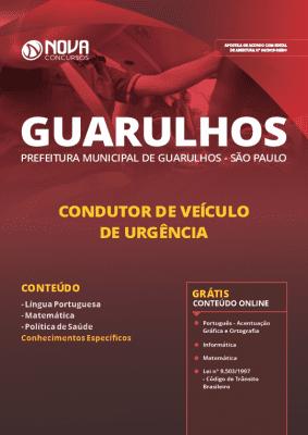 Apostila Prefeitura de Guarulhos 2019 PDF Impressa Grátis Cursos Online Condutor de Veículo de Urgência