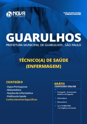 Apostila Prefeitura de Guarulhos 2019 Grátis Cursos Online Técnico de Saúde em Enfermagem