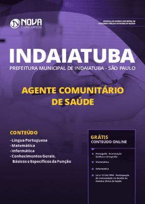 Apostila Concurso Prefeitura de Indaiatuba 2019 Grátis Cursos Online Agente Comunitário de Saúde