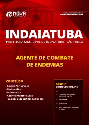 Apostila Prefeitura de Indaiatuba 2019 Grátis Cursos Online Agente de Combate de Endemias