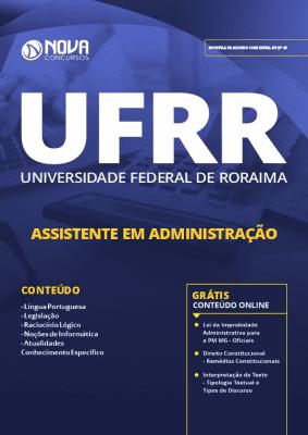 Apostila UFRR 2019 Grátis Cursos Online Assistente em Administração