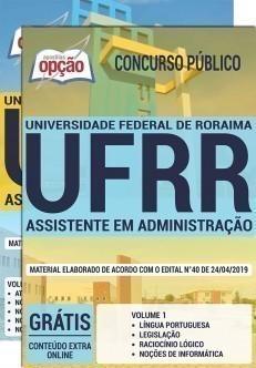 Apostila UFRR 2019 PDF e Impressa Assistente em Administração