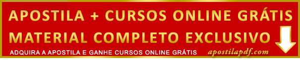 Apostila CRP PR 2019 PDF Impressa Grátis Cursos Online