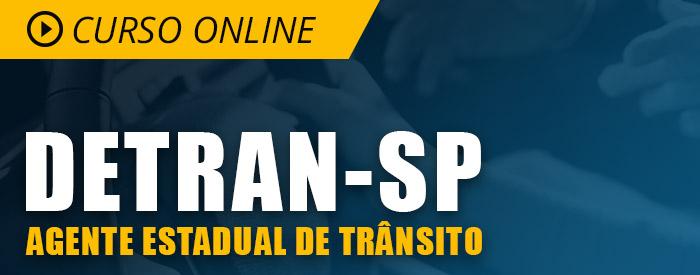 Curso Online DETRAN SP 2019 Completo de Agente Estadual de Trânsito