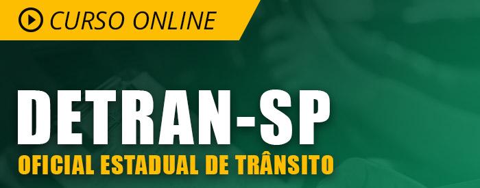 Curso Online DETRAN SP 2019 Completo de Oficial Estadual de Trânsito
