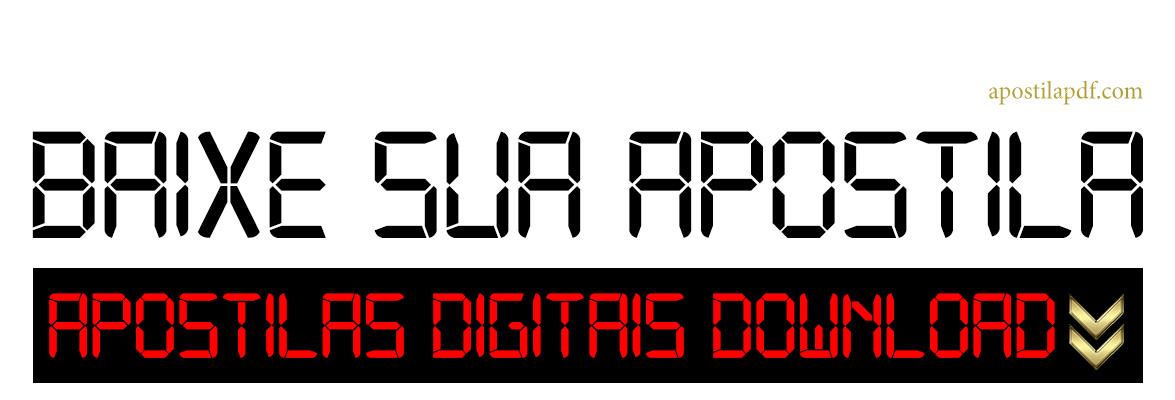 Baixar Apostilas PDF Download 2020 de Concursos Públicos