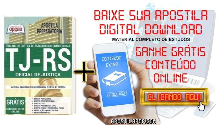 Baixar Apostila Concurso TJ RS 2019 PDF Oficial de Justiça