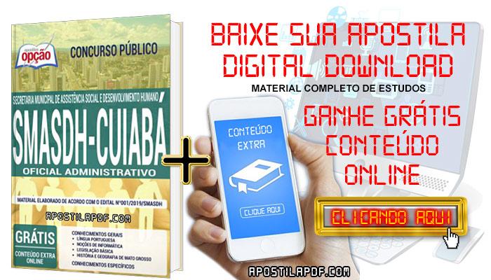 Baixar Apostila Concurso SMASDH 2019 PDF Oficial Administrativo