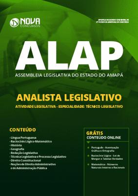 Apostila ALAP 2019 Analista Legislativo Grátis Cursos Online