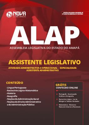 Apostila Concurso ALAP 2019 Assistente Legislativo Grátis Cursos Online