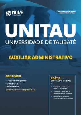 Apostila UNITAU SP 2019 Auxiliar Administrativo Grátis Cursos Online
