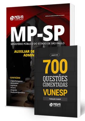 Apostila MP SP 2019 Grátis Livro de Questões Vunesp