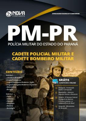 Apostila Concurso PM PR 2019 Cadete Policial Militar e Cadete Bombeiro Militar Grátis Cursos Online