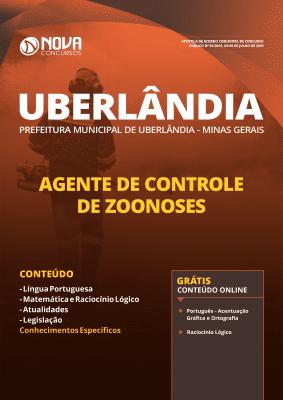 Apostila Prefeitura de Uberlândia 2019 Agente de Controle de Zoonoses Grátis Cursos Online