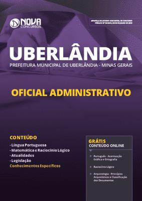 Apostila Prefeitura de Uberlândia 2019 Oficial Administrativo Grátis Cursos Online