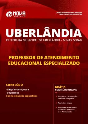Apostila Prefeitura de Uberlândia 2019 Professor de Atendimento Educacional Especializado Grátis Cursos Online