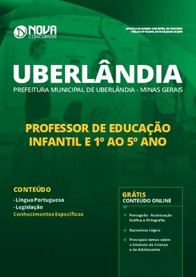 Apostila Prefeitura de Uberlândia 2019 Professor de Educação Infantil e 1º ao 5º ano Grátis Cursos Online