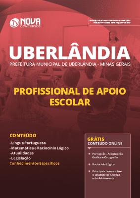Apostila Prefeitura de Uberlândia 2019 Profissional de Apoio Escolar Grátis Cursos Online