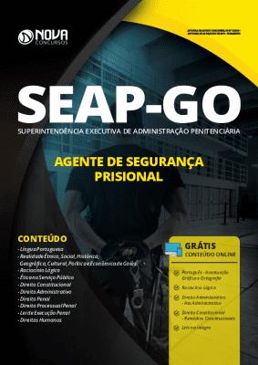 Apostila SEAP GO 2019 Agente de Segurança Prisional Grátis Cursos Online