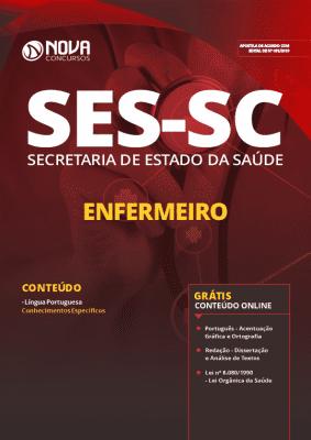 Apostila SES SC 2019 Enfermeiro Grátis Cursos Online