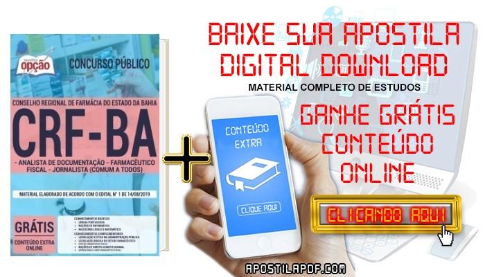 Apostila CRF BA 2019 PDF Cargos de Nível Superior