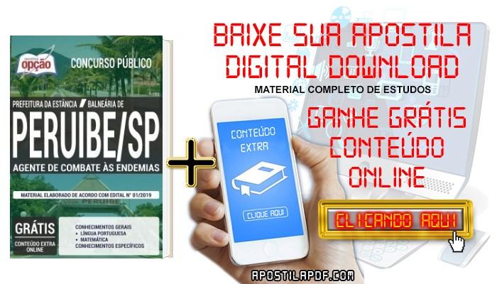 Baixar Apostila Concurso Prefeitura de Peruíbe 2019 PDF Agente de Combate às Endemias