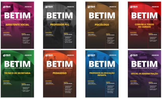Baixar Apostila Prefeitura de Betim 2019 PDF Grátis Cursos Online