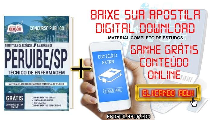 Baixar Apostila Concurso Prefeitura de Peruíbe 2019 PDF Técnico de Enfermagem