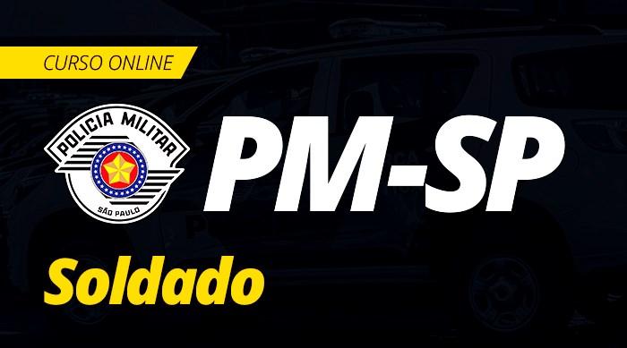 Curso Online PM SP 2019 Soldado da Polícia Militar de São Paulo