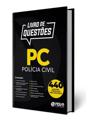 Livro de Questões PC da Polícia Civil 2019 Impresso