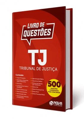 Livro de Questões TJ Concursos do Tribunal de Justiça 2019