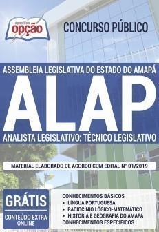 Apostila ALAP 2019 Analista Legislativo Técnico Legislativo PDF e Impressa