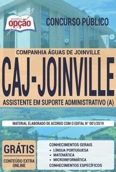 Apostila Concurso CAJ Joinville 2019 PDF e Impressa